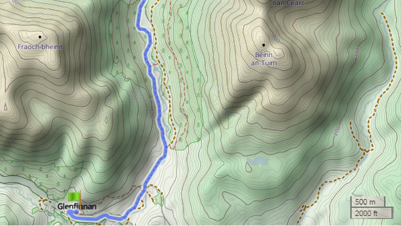 Knoydart Trail Tag 2